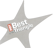 Voted Best of the Triangle 2012